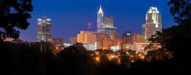 Photo of Raleigh skyline